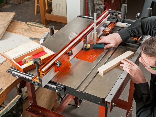 Customise Your Router Table With UJK Technology