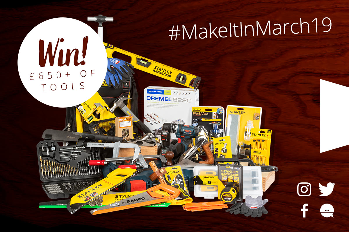 Win the ultimate tool bundle worth over £650