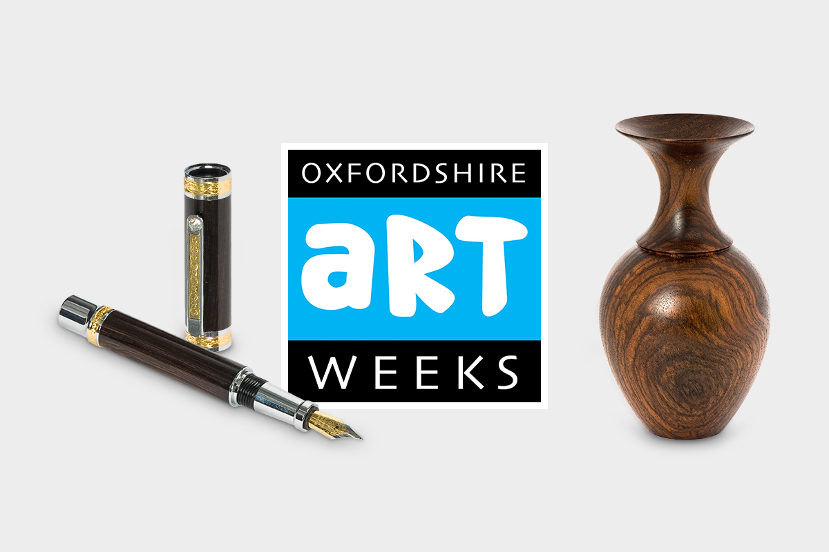 Woodturning at the Oxfordshire Artweeks May Festival