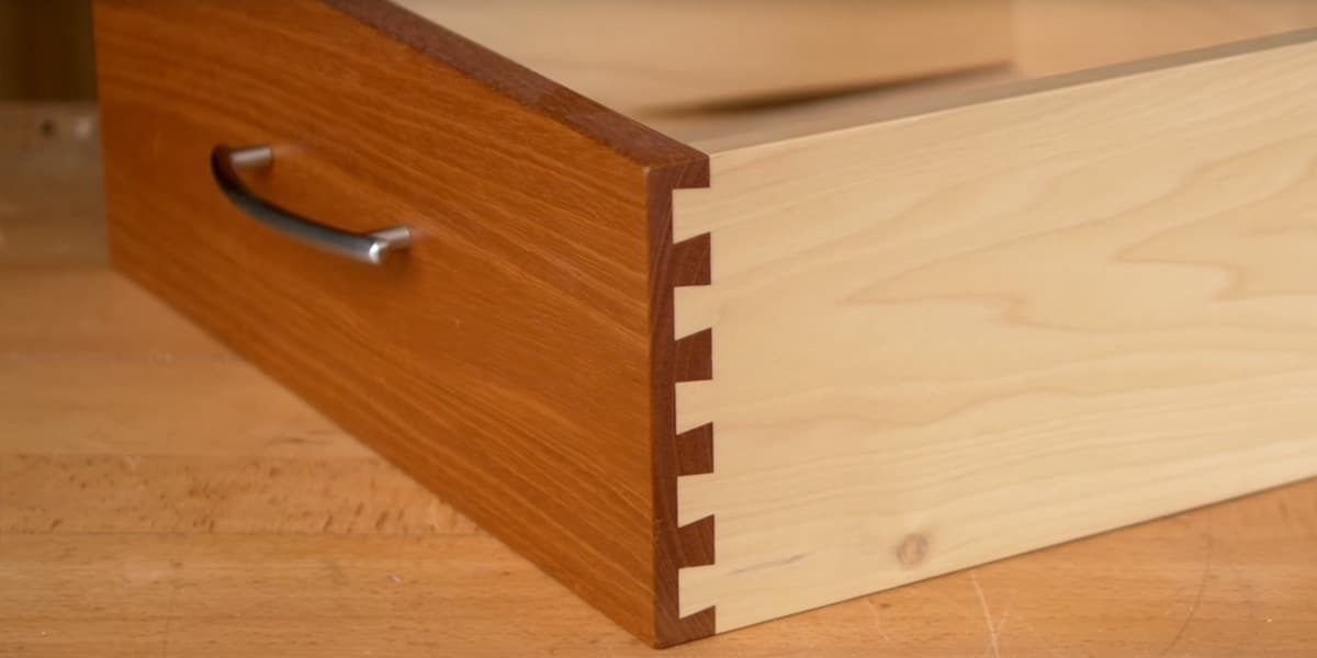 Single Pass Half Blind Dovetail