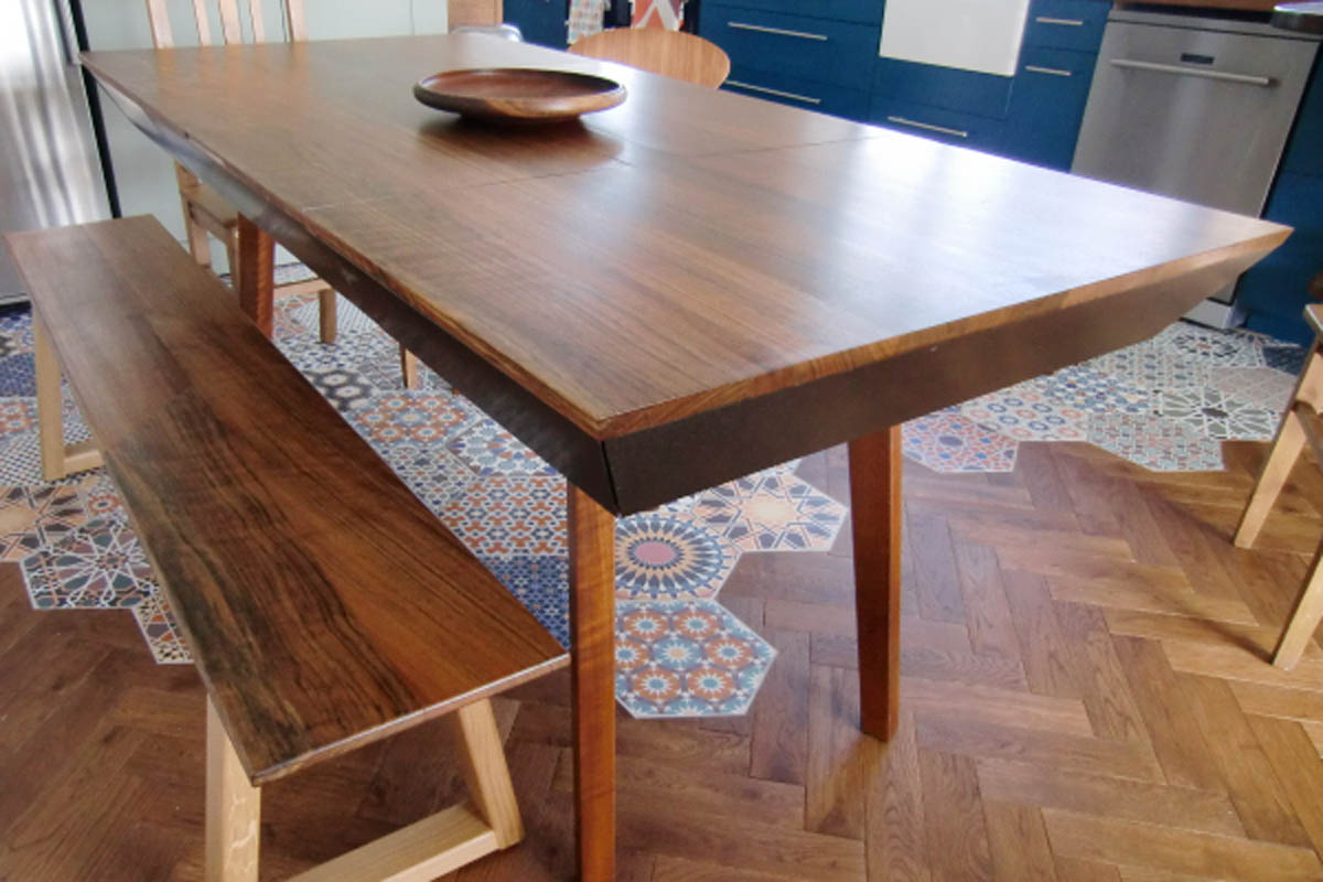 Table made by Olly Christian
