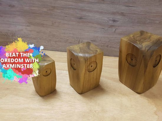 Wooden Block Owl Title Image