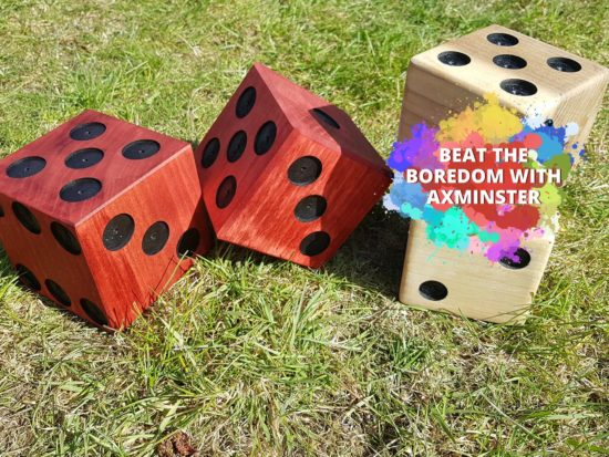 Beat The Boredom - Giant Dice