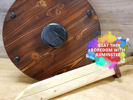 Woodworking Projects For Young Kids - Sword and Shield