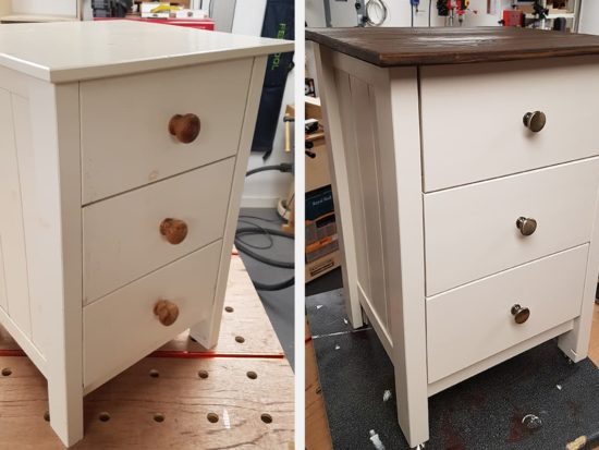 Furniture Restoration Using Power Tools