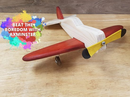Beat The Boredom - Wooden Aeroplane