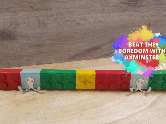 Lego Coat Rack Header