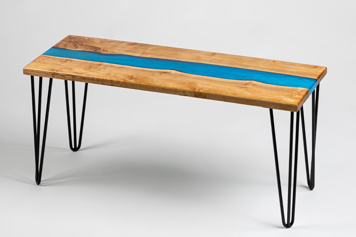 Ecopoxy River Table