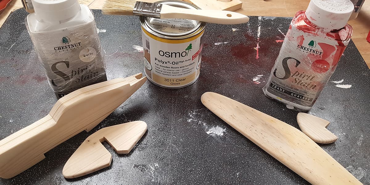 Part 4 – Sand up, finish and glue