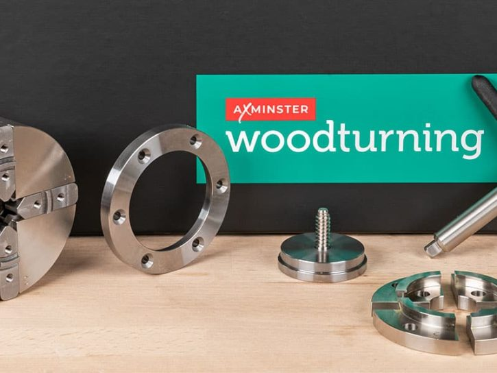 Axminster Evolution SK114 Woodturning Chuck Package