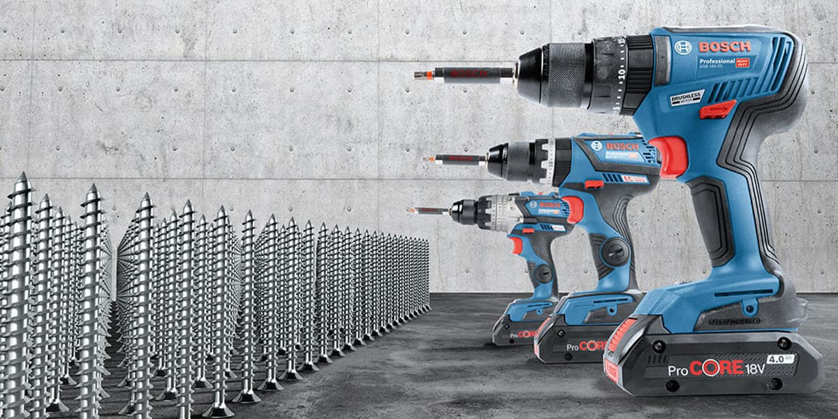 Bosch Brushless 18V Combi Drills