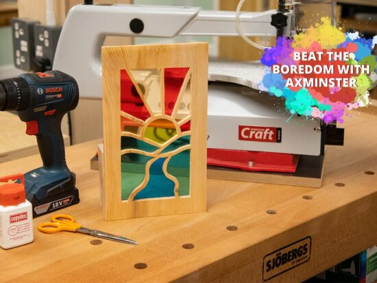 Beat The Boredom - Stained Glass Window