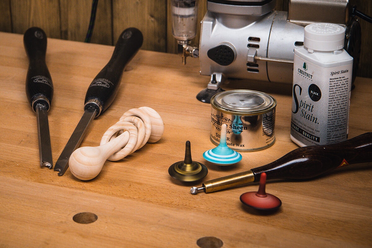 Specialist woodturning tools